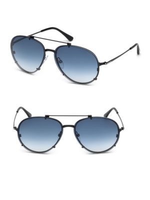 Dickon 59 Mm Aviator Sunglasses by Tom Ford Eyewear