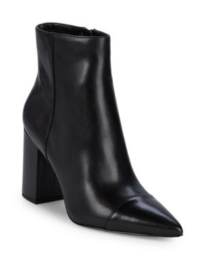 ranfeild-cap-toe-ankle-boots by nine-west