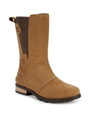 Emelie Leather Waterproof Boots by Sorel