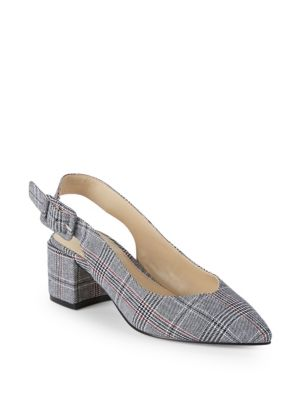 Brandee Slingback Textile Pumps by Pure Navy