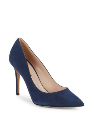 Genesis Stiletto Heel Suede Pumps by Charles David
