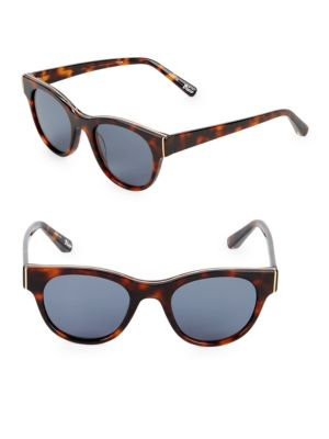 50 Mm Square Sunglasses by Elizabeth And James
