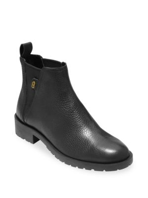 Grand Os Calandra Leather Ankle Boots by Cole Haan