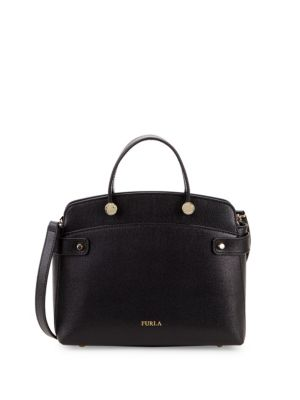 Agata Leather Tote by Furla