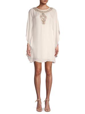 Cape Sleeve Shift Dress by Trina Turk