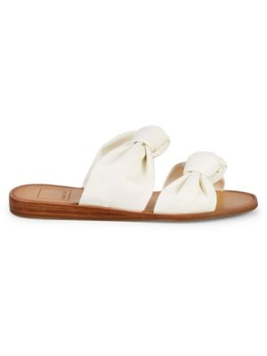 Pascal Double Strap Knot Slip On Sandals by Dolce Vita