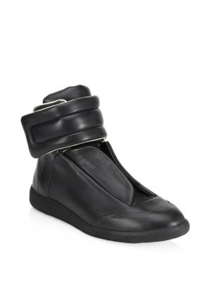 Future Leather High Tops by Maison Margiela