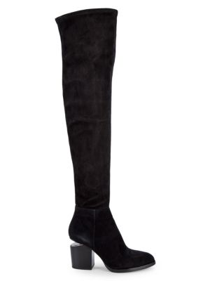 Gabi Thigh High Suede Boots by Alexander Wang