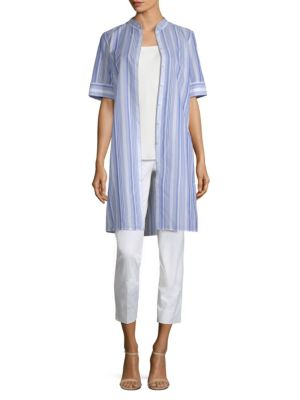 Randi Striped Tunic by Lafayette 148 New York