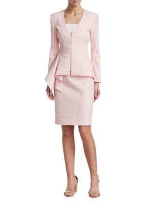 Grand Hotel Peplum Jacket by Nanette Lepore