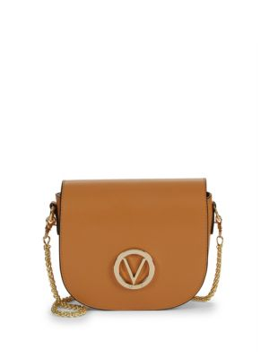 Josette Leather Chain Saddle Bag by Valentino Garavani