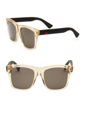 Classic 53 Mm Square Sunglasses by Gucci