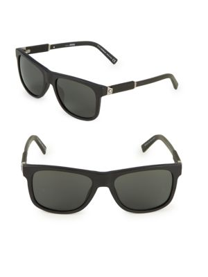 56 Mm Square Sunglasses by Montblanc