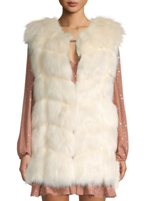 Faux Fur Vest by Shaci