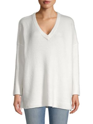 Flossy V Neck Sweater by French Connection