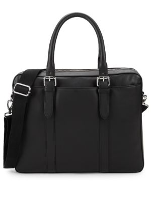 Classic Leather Top Handle Bag by Cole Haan