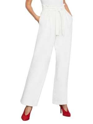 Pleated Wide Leg Pants by Bcbgmaxazria