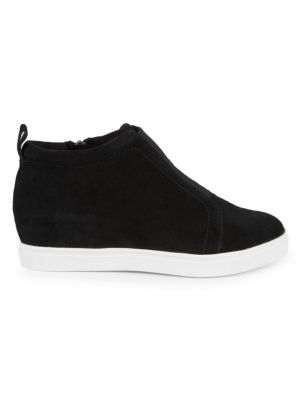 Garrick Suede Wedge Sneakers by Blondo