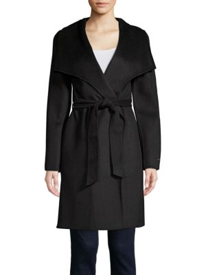 Ellie Belted Wrap Coat by T Tahari