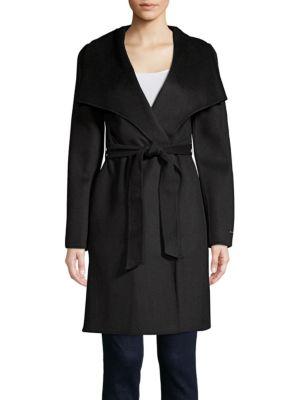 Ellie Belted Wrap Coat by T Tahari