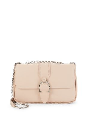 Belted Leather Crossbody Bag by Longchamp