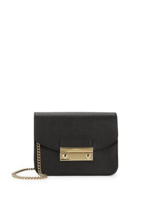 Julia Leather Mini Crossbody Bag by Furla