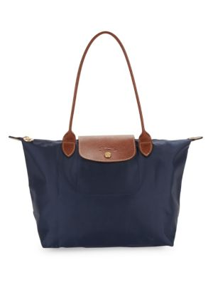 Large Foldable Zip Tote by Longchamp