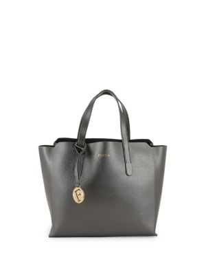 Leather Tote by Furla
