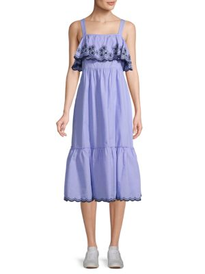Daisy Embroidered Maxi Dress by Kate Spade New York