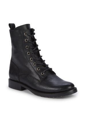 Logo Lace Up Boots by Frye