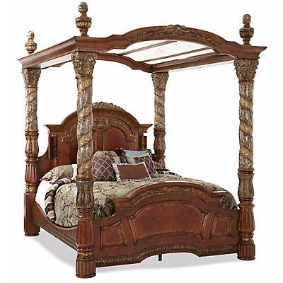 Villa Valencia King Canopy Bed