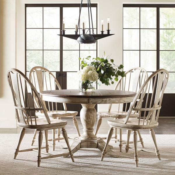 Weatherford 5 Piece Round Dining Room Set