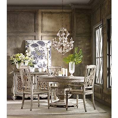 Chatelet 5 Piece Round Dining Room Set