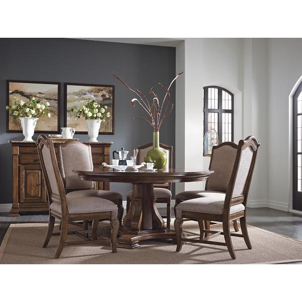 Portolone 5 Piece 60inch Round Dining Room Set