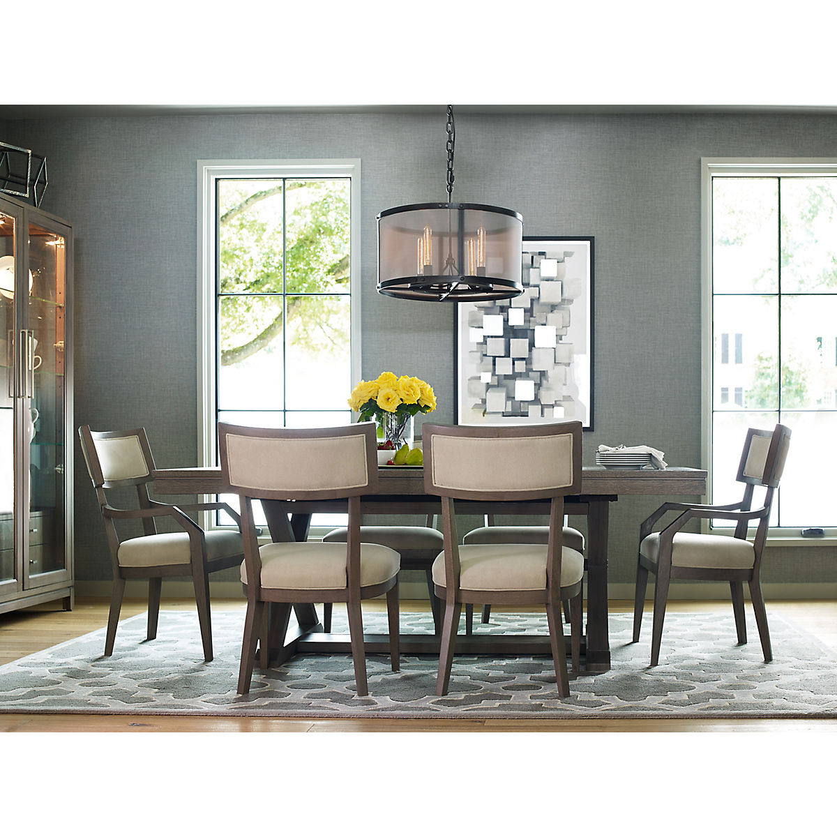 Tremendous Rachael Ray Home Highline 5 Piece Dining Room Set Star Furniture Home Interior And Landscaping Transignezvosmurscom