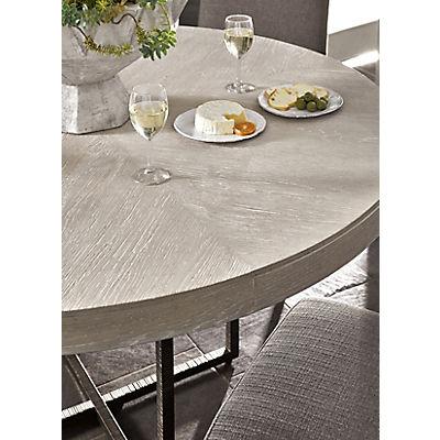 Modern-Quartz 5 Piece Round Dining Room Set