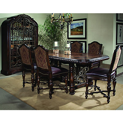 Valencia 5 Piece Gathering Height Dining Room Set
