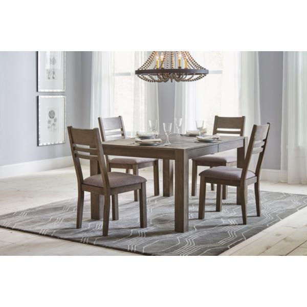 Easton Grey 5 Piece Dining Set