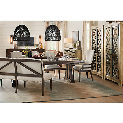 Roslyn County 5 Piece Rectangle Dining Room Set