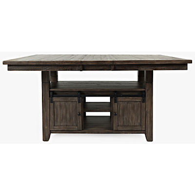 Ginger 5 Piece Counter Height Barnwood Dining Set