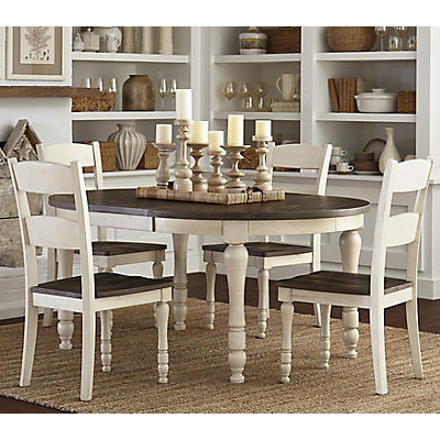 Ginger 5 Piece Round Dining Set Star, Round Dining Room Sets