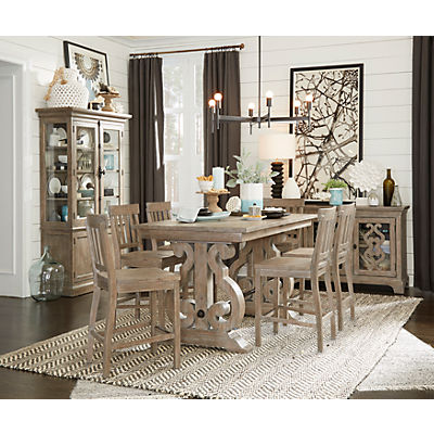 Treble 5 Piece Counter Height Dining Set