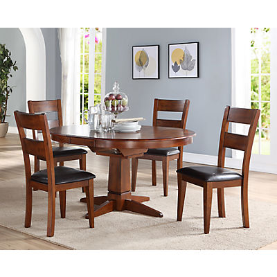 Mango 5 Piece Round Dining Set