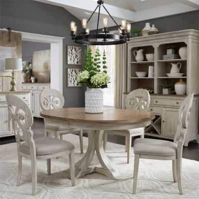 Picture of: Farmhouse Reimagined 5 Piece Dining Set Star Furniture