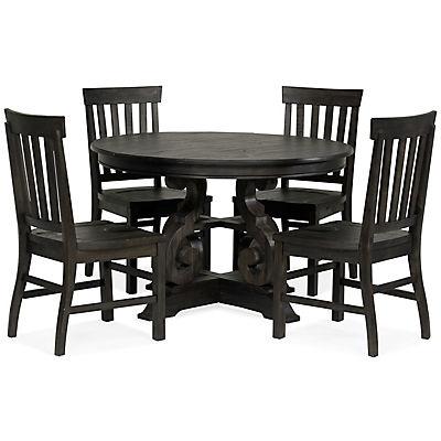 "Treble II 5 Piece 48"" Round Dining Table Set"