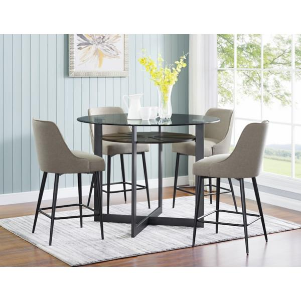 Olson 5 Piece Counter Height Dining Set