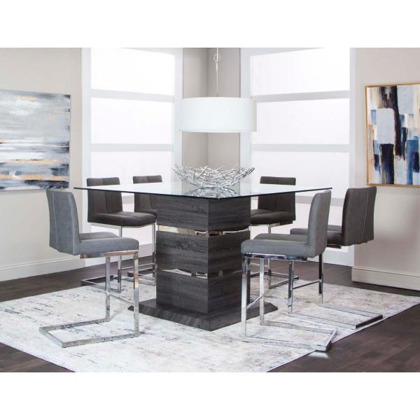Gamma 5 Piece Counter Height Dining Set
