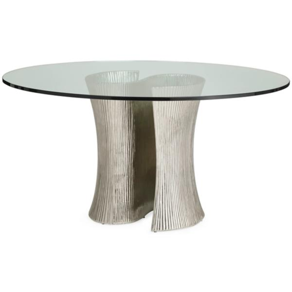 Serpentine 5 Piece Round Dining set
