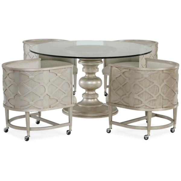 Morrissey 5 Piece Round Dining Set