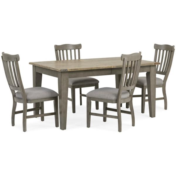 Pine Crest 5 Piece Rectangular Dining Set